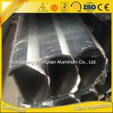 Prix en aluminium anodisé par approvisionnement d'usine par balustrade ovale de forme d'extrusion en aluminium de kilogramme