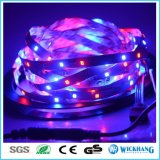 luz de tira flexible de 12V los 5m 3528 RGB SMD 300LED impermeable