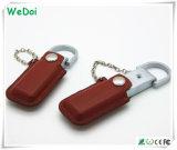 Выдвиженческая ручка памяти USB кожи дела с низкой стоимостью (WY-L06)