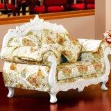 Sofá de madera de la tela con el vector para los muebles caseros (D929H)