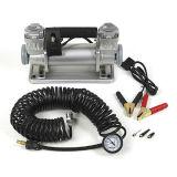 Сверхмощный насос автошины компрессора воздуха компрессора воздуха металла цилиндра Compressordouble воздуха тележки сверхмощный