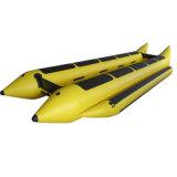 Erstaunlicher Plane-Heißsiegel-aufblasbare Bananen-Boots-Fliegen-Fische