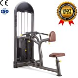 Máquina comercial assentada do exercício do equipamento do edifício de corpo da ginástica da fileira