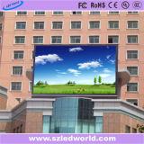 P5 alta tablilla de anuncios fija a todo color al aire libre de LED de la definición SMD para hacer publicidad