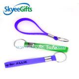 Wristband Keychain del silicón de la pulsera de la mano