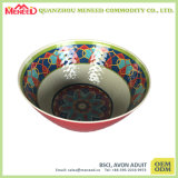 EUA Mercado Hot Sell Ceramic Like Melamine Soup Bowl