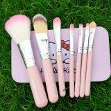Hello Kitty 7 PCS Set Cepillos cosméticos del maquillaje