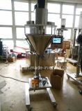 Máquina de enchimento cosmética Semi automática do eixo helicoidal do pó (pode adicionar o dispositivo da prova da poeira)