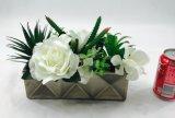 De rechthoekige Decoratie van de Kunstbloemen van de Keramiek