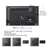 Lxx S905X X96는 최고 IPTV 텔레비젼 상자 인조 인간 아랍 IPTV 인터넷 텔레비젼 상자를 해방한다