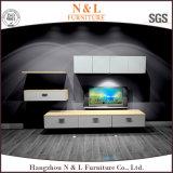 N u. L moderne Wohnzimmer-Möbel-hoher Glanz Fernsehapparat-Standplatz