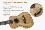 Chinaukulele-Fabrik Spalted Ahornholz-Karosserien-HawaiiUkulele für Verkauf