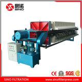 Máquina caliente de la prensa de filtro con el sistema que se lava del paño