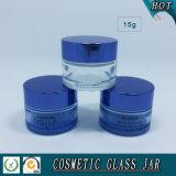 15ml透過ガラス化粧品の瓶