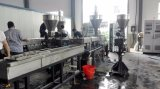 PVC 탄소 검정 실험실 Masterbatch를 채우기를 위한 플라스틱 밀어남 기계