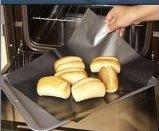 Heißes verkaufenPTFE Backen-Blatt-Ofen-Zwischenlage-teflonüberzogenes Fiberglas