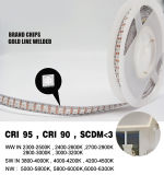 Barra flexible 12/24V IP67 RGB de la tira de la cinta LED del J. GS3528-240 LED