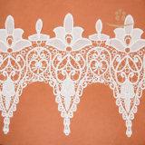 Merletto svizzero pesante 100% del voile del cotone alla moda di alta qualità grande