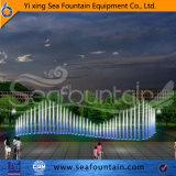 Module en bois d'acier inoxydable de musique de fontaine extérieure de syndicat de prix ferme