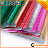 Металлической прокатанные пленкой изготовления ткани