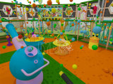 Le parc d'attractions badine le matériel mou d'intérieur de cour de jeu de terrain de jeux