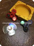1명의 다기능 금속 핑거 방적공에 대하여 또는 LED 저속한 금속 손 방적공 또는 전자 Watch+Compass 핑거 방적공 장난감에 4
