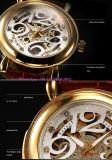 Het Horloge van knappe High-End Automatische Mensen met de Echte Riem Fs600 van het Leer