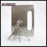Blocage de porte en verre en alliage de zinc avec le traitement HR-1137/HR-1136 :