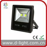 Projector ao ar livre do diodo emissor de luz da ESPIGA IP65 100W do uso do preço barato do poder superior