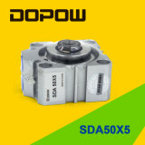 Dopow Sda 시리즈 콤팩트 압축 공기를 넣은 실린더