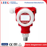 Transmissor de pressão inteligente do calibre com certificado do Ce