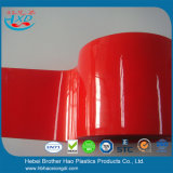 Сделано приказать дверь прокладки занавеса PVC винила Felxible красную опаковую