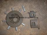 Testa della ventola per i pezzi di ricambio della macchina di granigliatura