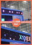 Écran de visualisation polychrome extérieur de module de X10 DEL pour annoncer le panneau