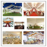 12mx25m grosses im Freiengarten-Hochzeits-Zelt mit transparentem Dach und freier Wand