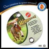 2016 etiquetas de perro calientes de la tarjeta de papel del juguete del perro de animal doméstico de la venta