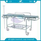 AG-HS015 ISO&Ce genehmigte Krankenhaus verwendete Metallrahmen-Patienten-Bahre