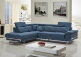 Insieme specializzato del sofà dell'angolo del tessuto della traversina