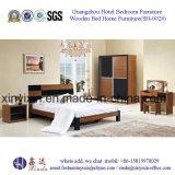 Muebles adultos del dormitorio de la base de China de los muebles de cuero del hotel (SH-008#)