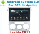 Android System 6.0 Car DVD Player para Lavida 2011 com carro GPS Navigatin