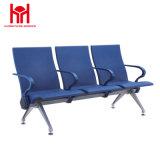 고품질 3 시트 PU에 의하여 덧대지는 공항 또는 병원 또는 역 벤치 의자 대기 장소