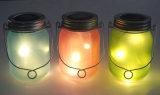 La meilleure lumière solaire décorative extérieure de vente en verre de la luciole DEL d'été