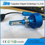 Lâmpada do automóvel do diodo emissor de luz do farol da lâmpada H7 da cabeça da iluminação do automóvel do jogo do carro