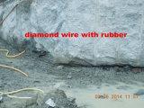 Вырезывание карьера мрамора провода диаманта