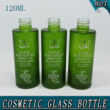 120ml 4oz Green Frosted Knell Facial Bottle Toilets To thunder Bottle