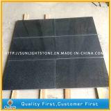 Azulejos grises oscuros Polished baratos del granito de G654 Padang para pavimentar/pared