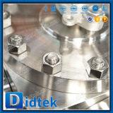 El borde de Didtek termina la vávula de bola de la manera del acero inoxidable CF8m 4