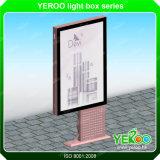 販売のための媒体によって照らされる永続的な屋外広告Lightbox