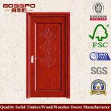 Porta de painel de madeira do microfarad do costume (GSP8-012)