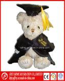 Luxuoso da cor de Brown e urso enchido da peluche para a graduação